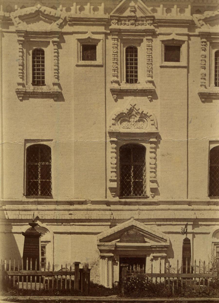 Благовещенский собор. Южная стена. 1915-1917