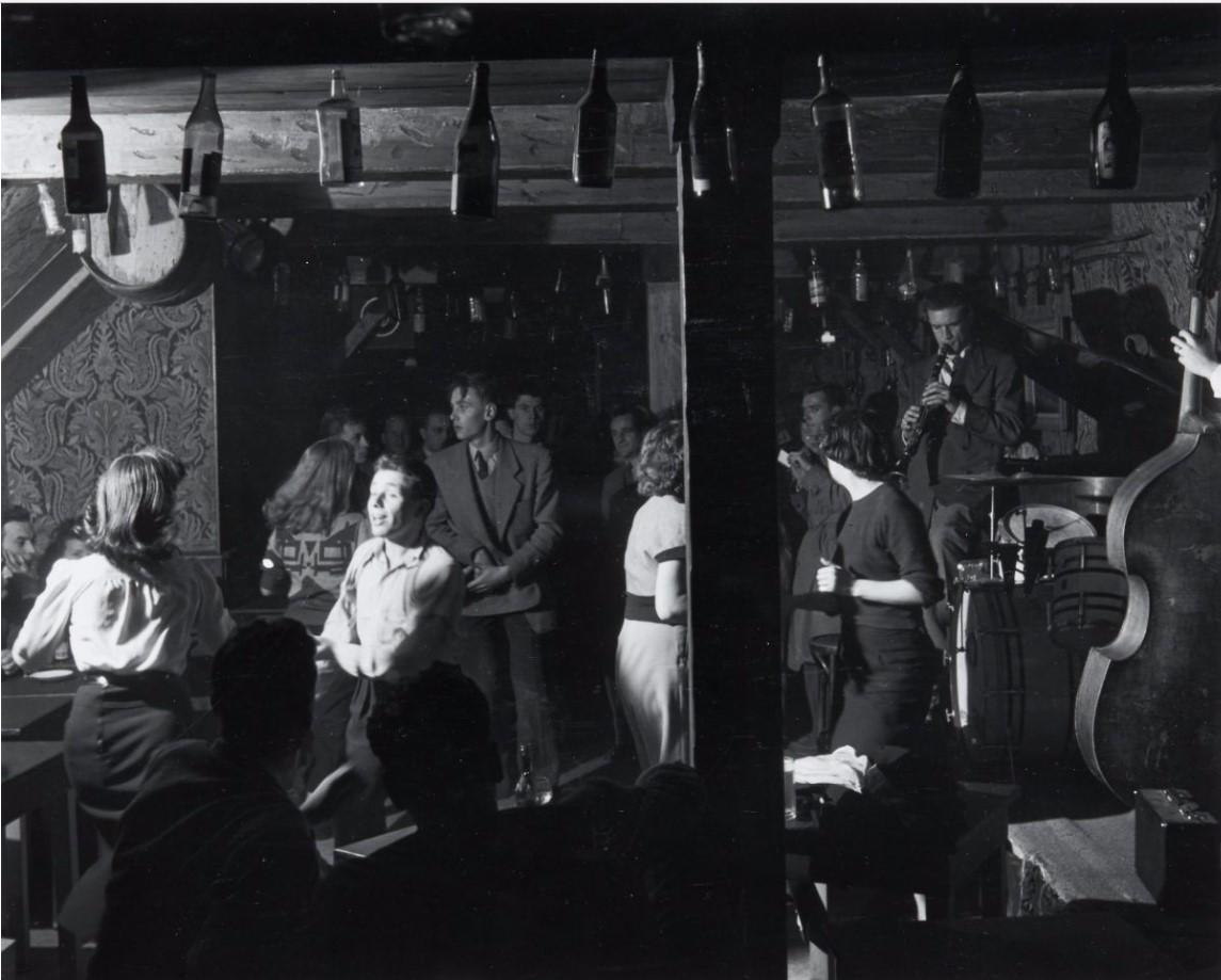 1949. Джаз-клуб на улице Вьё Коломбье