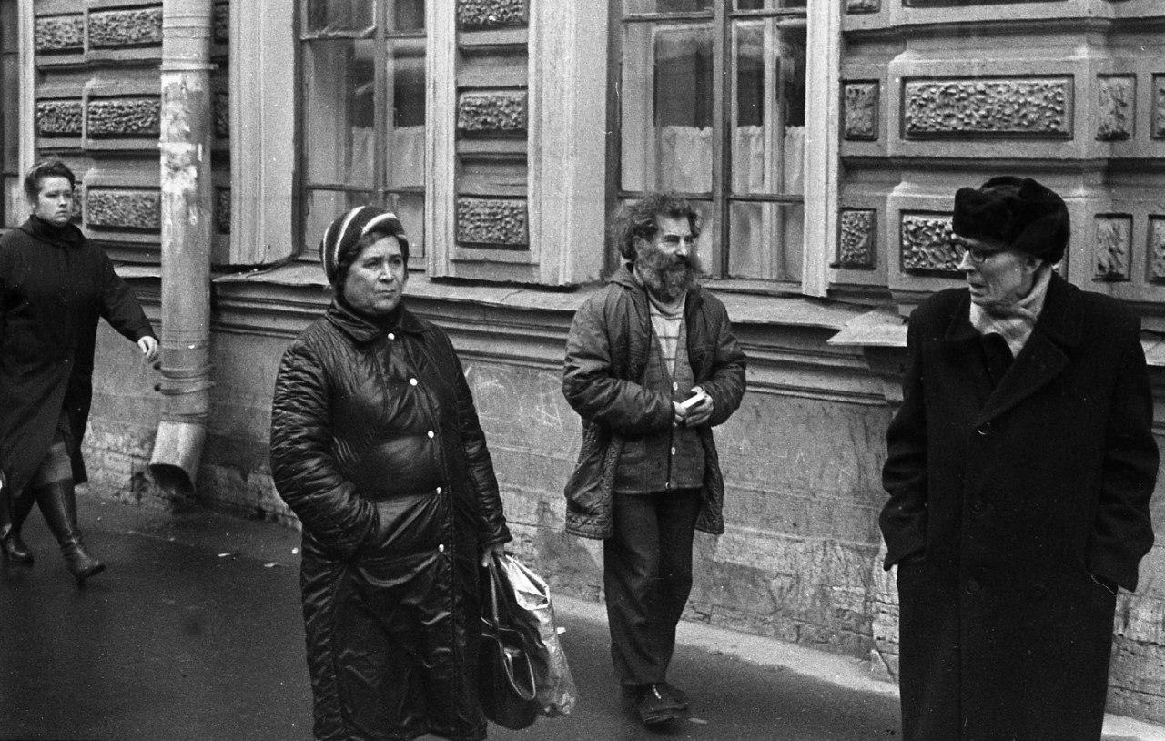 На улице. 70-е