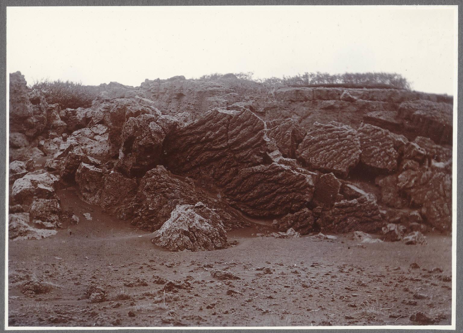 Гекла. Окаменевшая лава близ Нэфурхольта