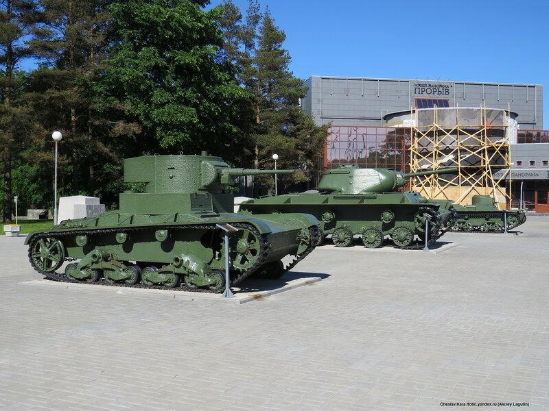 Т-26, КВ-1С, Т-38