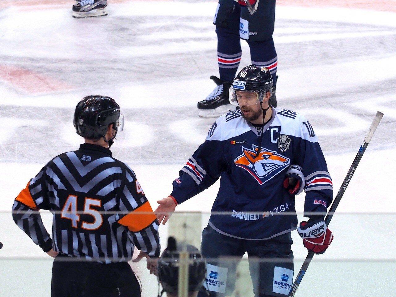 Вторая игра финала плей-офф 2017 Металлург - СКА 10.04.2017