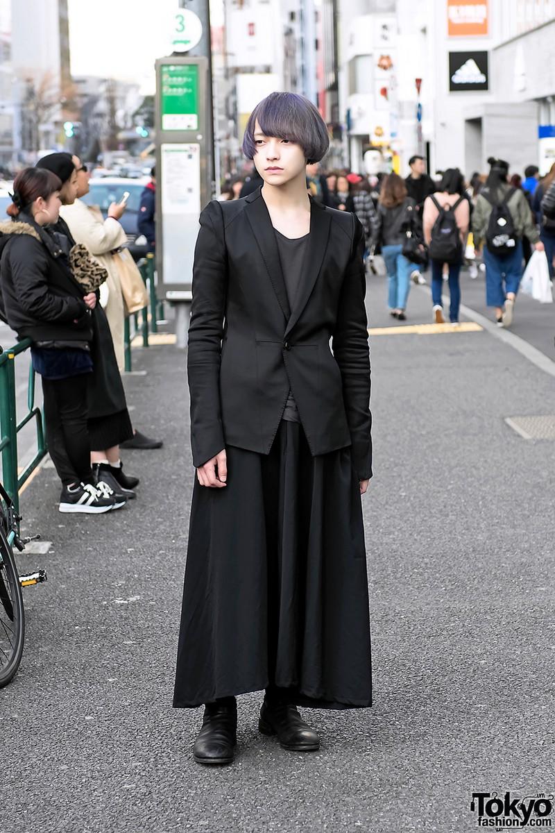 Модные персонажи на улицах Токио (12.04.17)