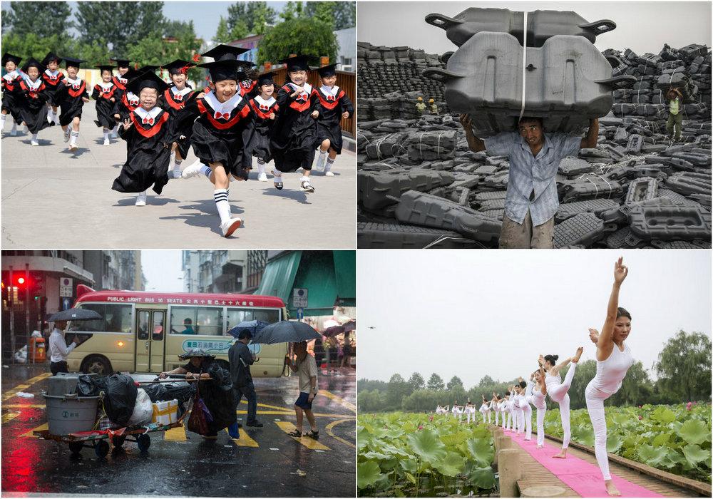 Июньские фото из Китая