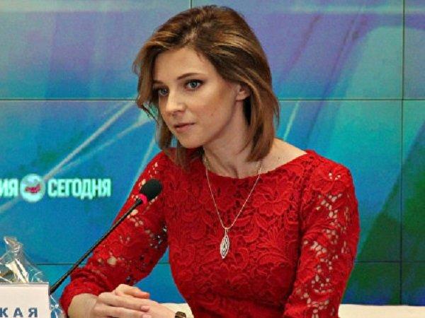 Наталья Поклонская в платье