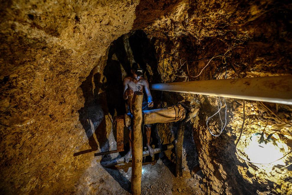 5. Подземные ходы. (Фото Juan Barreto):