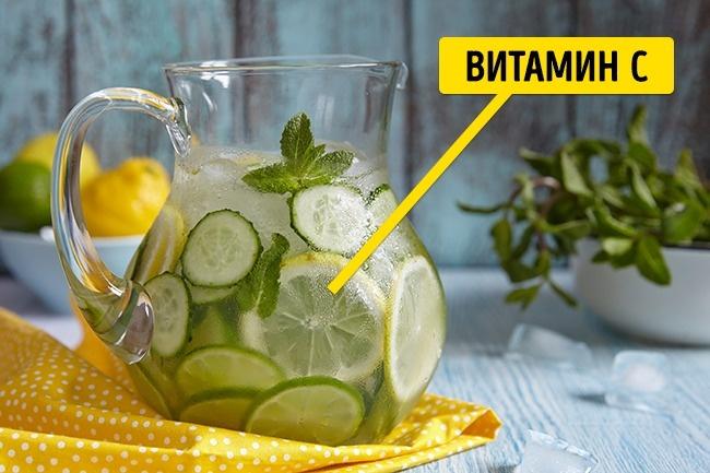 © depositphotos.com  Лимоны илаймы содержат большое количество витамина С .Аон, как известн