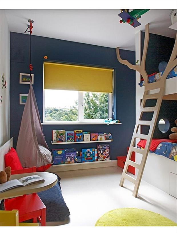 Потрясающие идеи оформления детских комнат