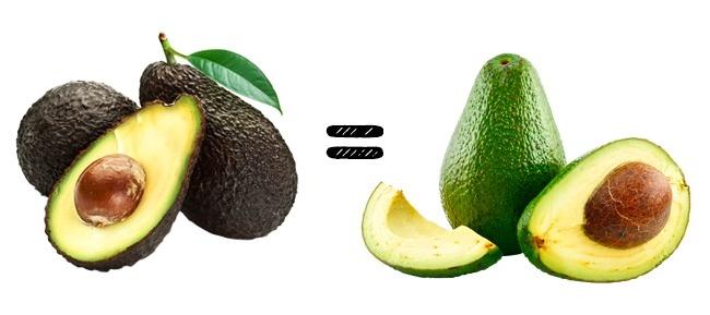 © depositphotos  © depositphotos  Кожица спелого авокадо может быть как коричневой, так