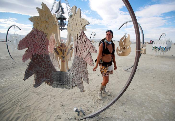 Фестиваль «Горящий человек 2016» в Неваде (21 фото)