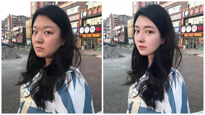 """Китайская """"богиня фотошопа"""" меняет внешность людей до неузнаваемости"""