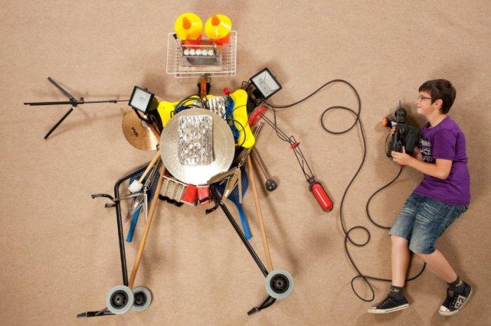 9 неожиданных домашних проектов, которые реализовали энтузиасты-самоделкины (7 фото)