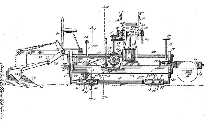 Шнекоход Якоба Мората. | Фото: en.wikipedia.org. Машину, позже названную шнекоходом, первым запатент