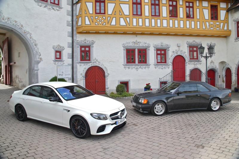 Серийно собранный AMG, и автомобиль который собирался строго по индивидуальному заказу, именно под в