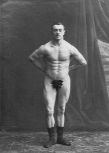 Портрет участника чемпионата Б.Гакеншмидта.