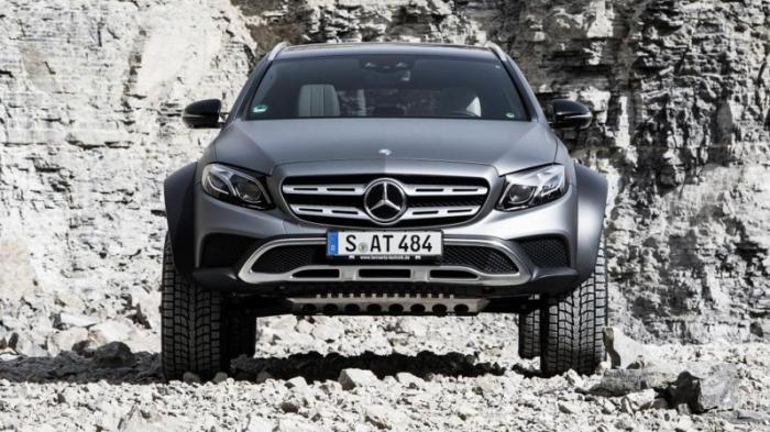 Универсал Mercedes All-Terrain превратили в экстремальный внедорожник