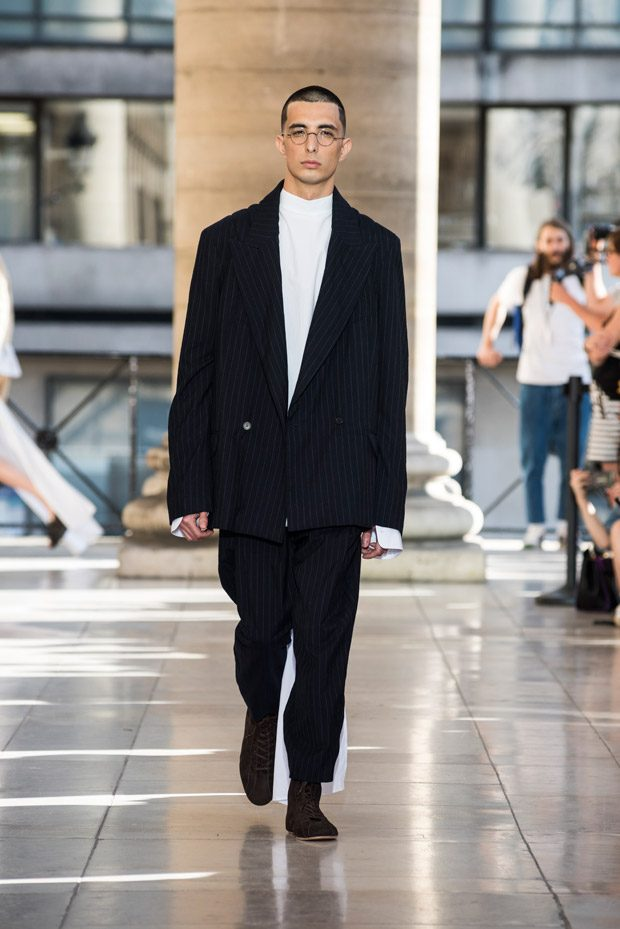 #PFW Hed Mayner Spring Summer 2018 Menswear Collection