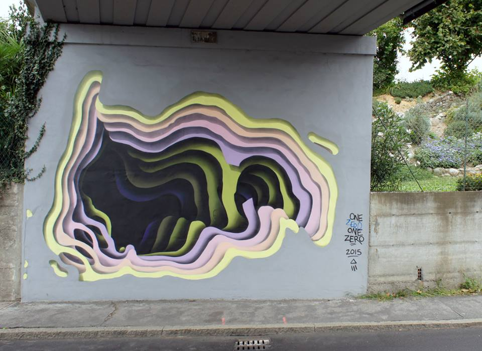 New Cavernous Murals by German Street Artist '1010'
