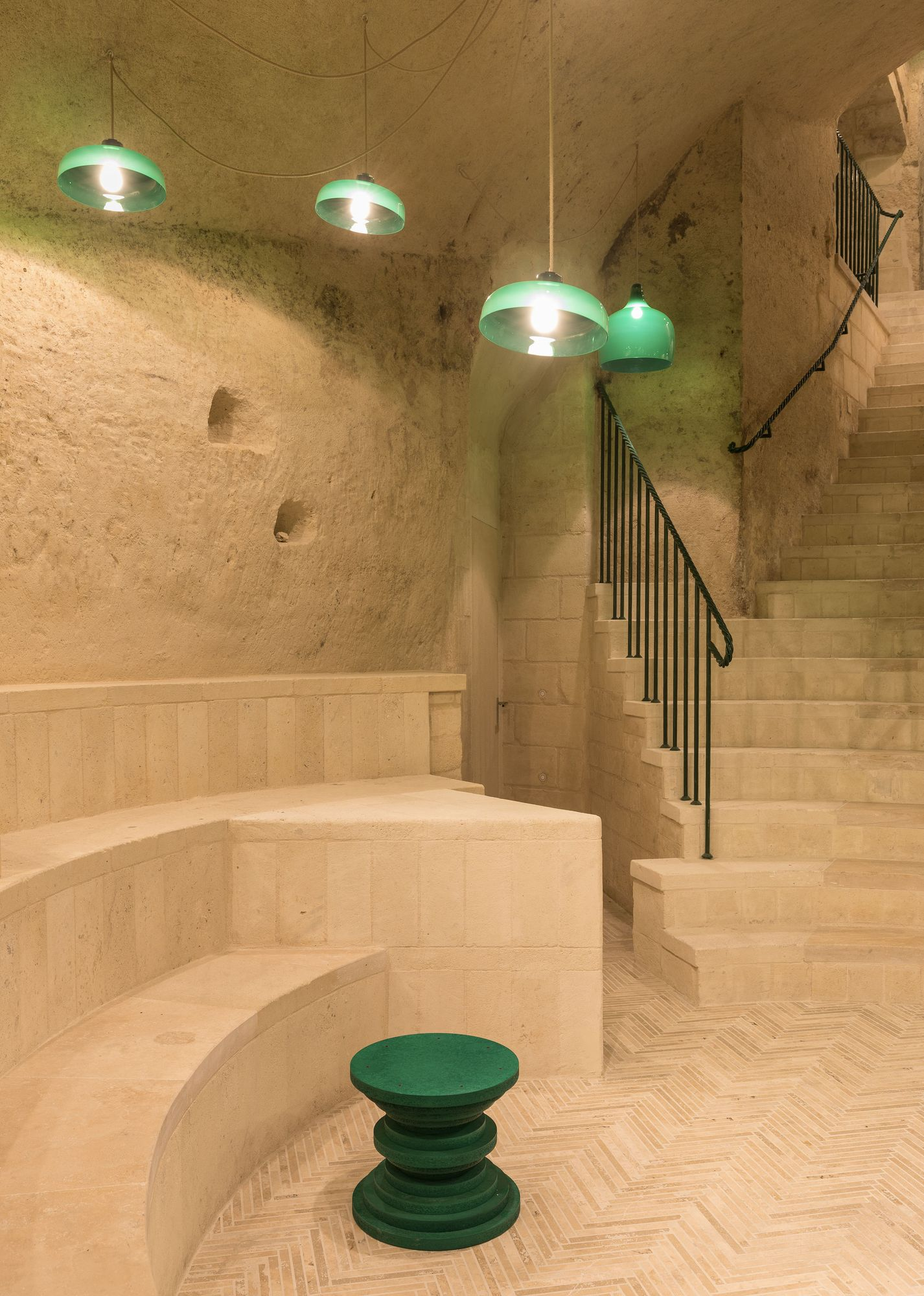 Elegant Underground Winery in Southern Italy