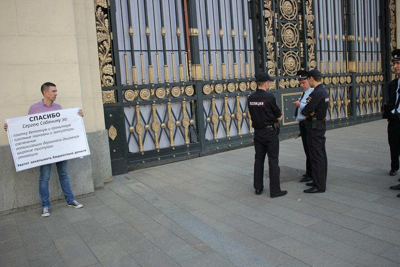 Пикет против градостроительной политики Собянина