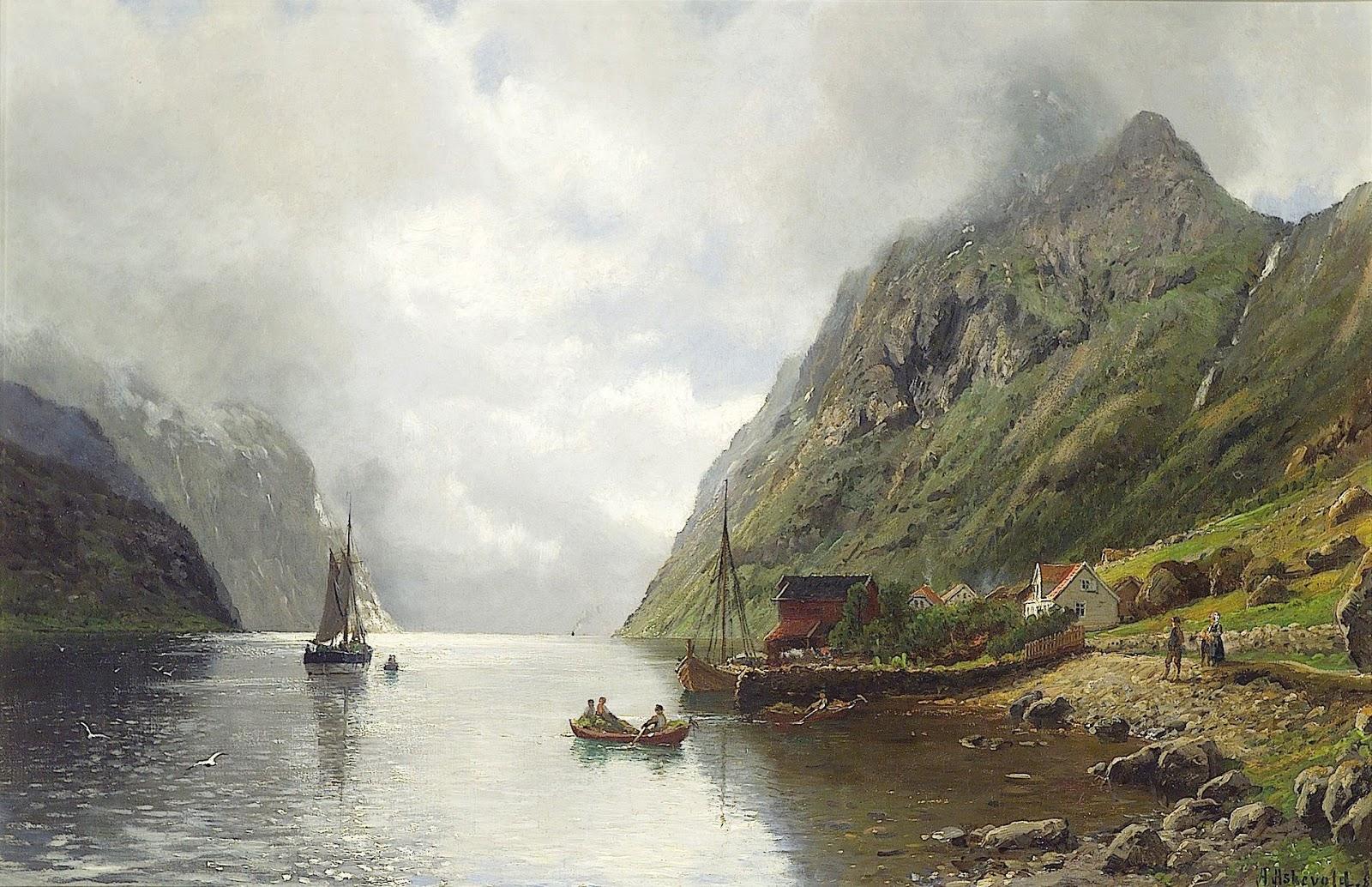 4 Anders Monsen Askevold     Fjord Landscape with Figures.jpg