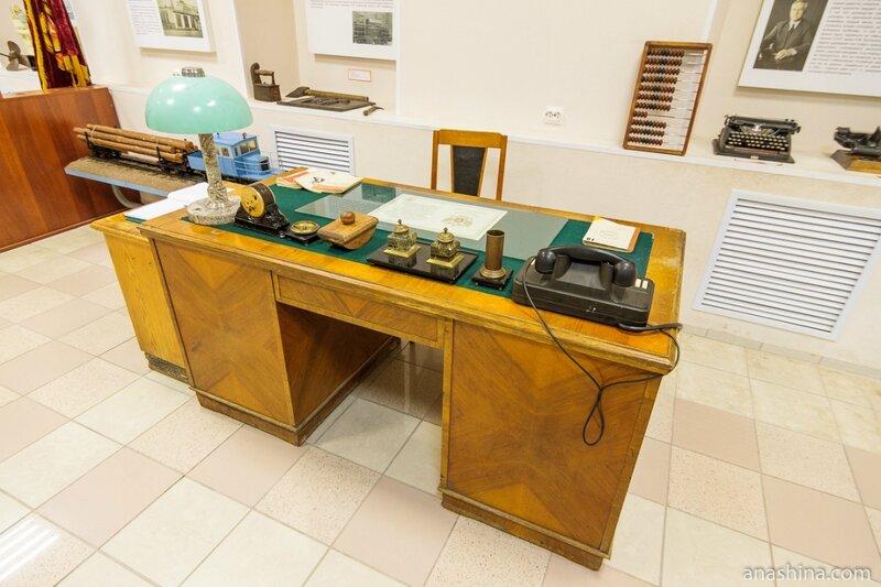Письменный стол директора ОТЗ, Музей промышленной истории Петрозаводска