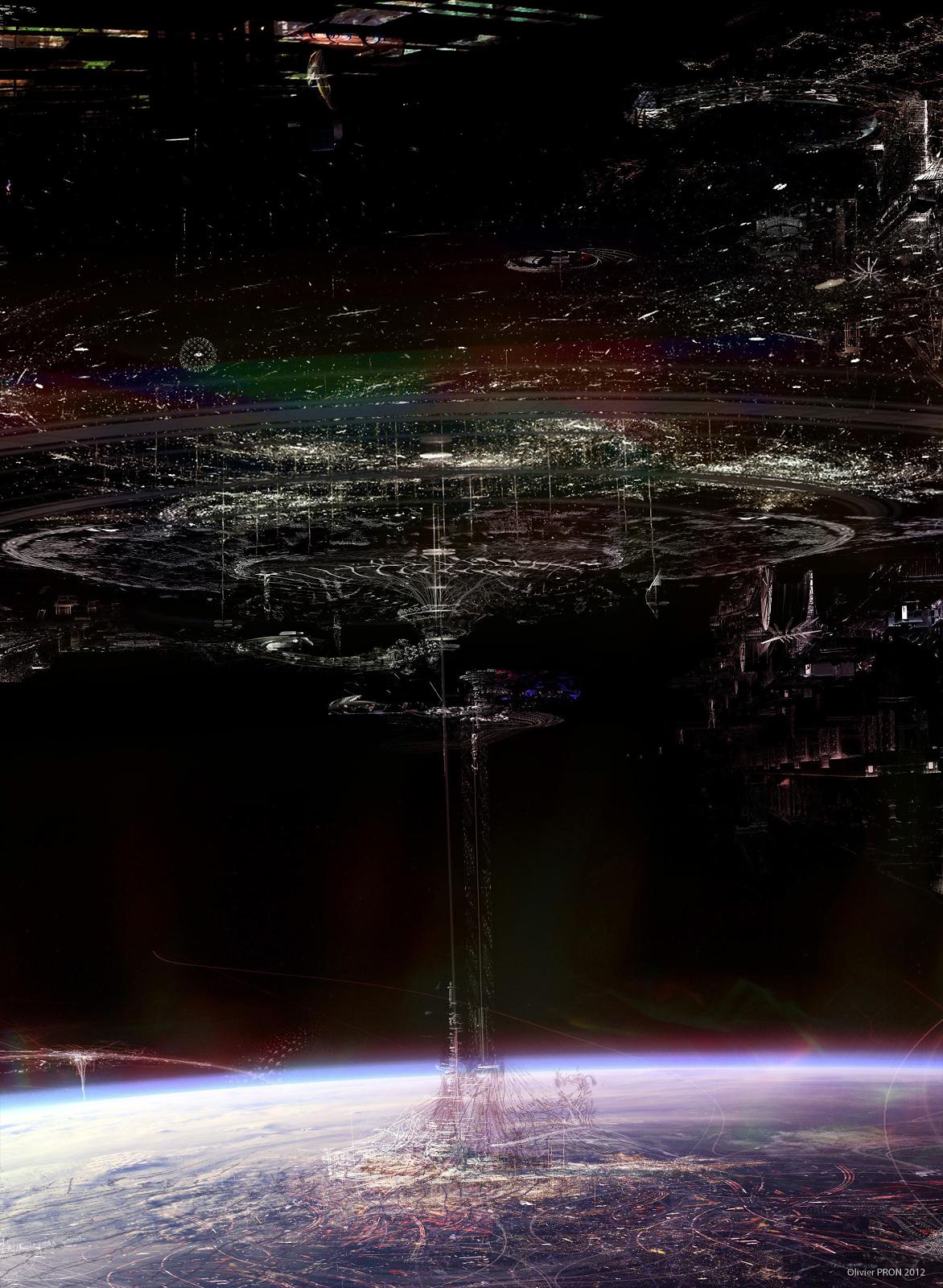 Jupiter Ascending Concept Art by Olivier Pron