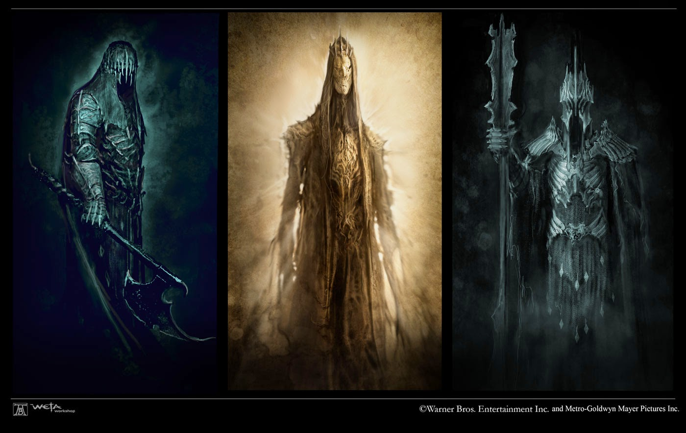 The Hobbit: The Battle of the Five Armies Concept Art by Andrew Baker