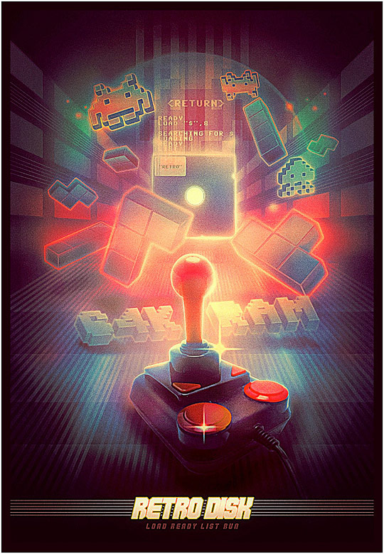 Retro Illustrations – Visual Nostalgia (41 pics)