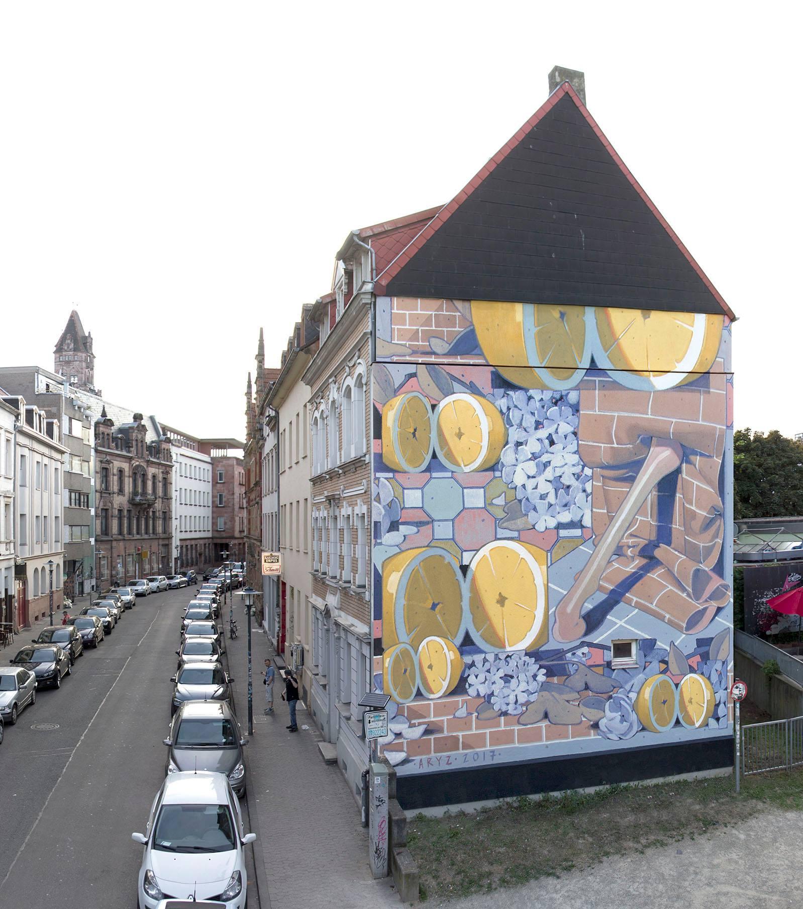 Streets: Aryz (Germany)