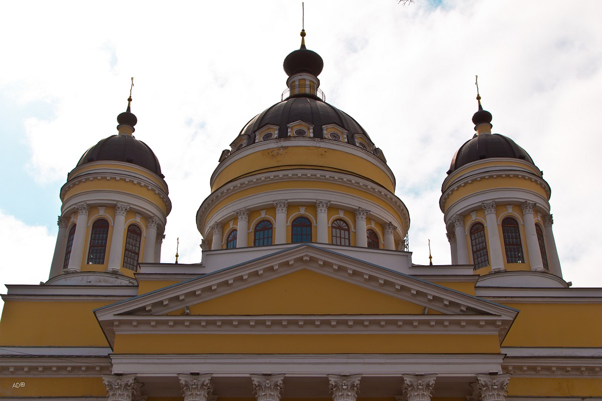 Золотое кольцо - Рыбинск - Спасо-Преображенский собор