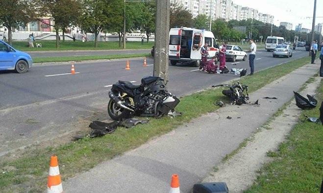 В Минске разбился мотоциклист Руслан Рабкевич