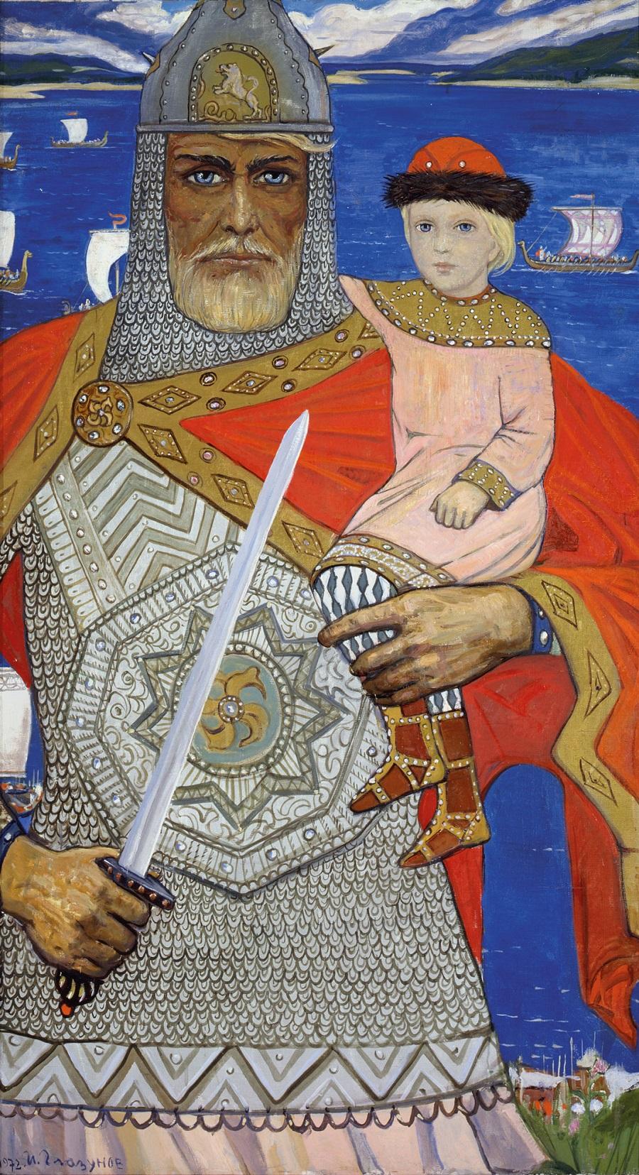 Князь Олег и Игорь