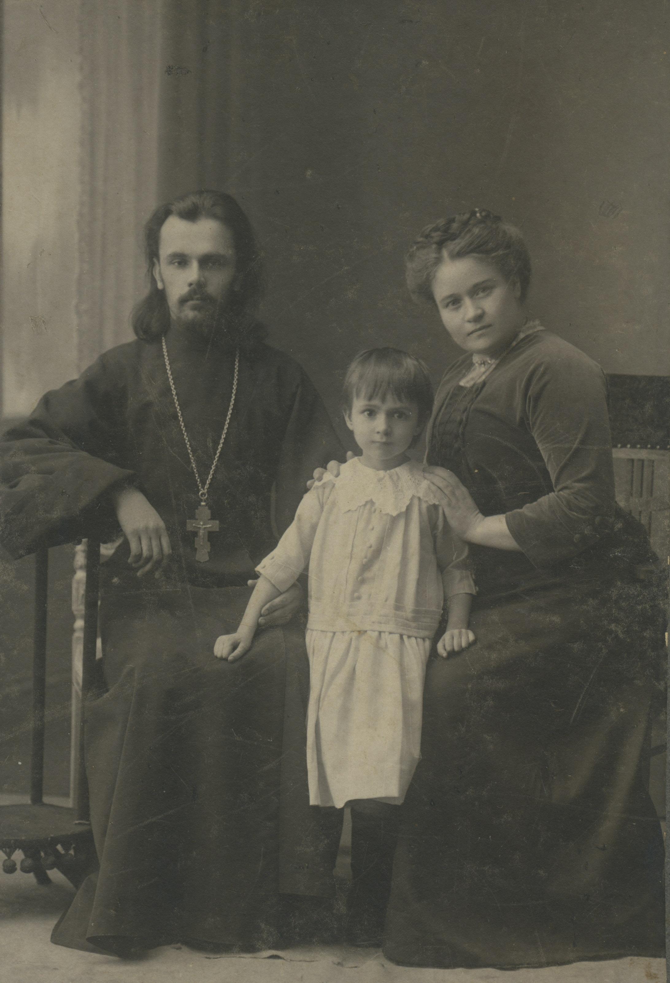 Семья священника. Муром, 1900 – 1910