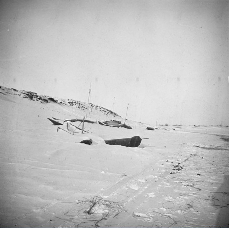 Зимний вид побережья