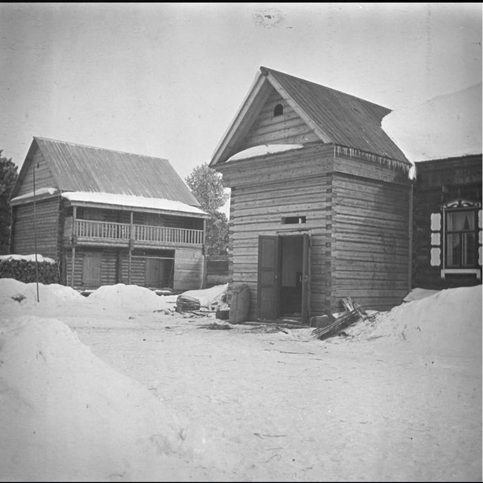 Дом двор и срубы купца В. П. Трофимова