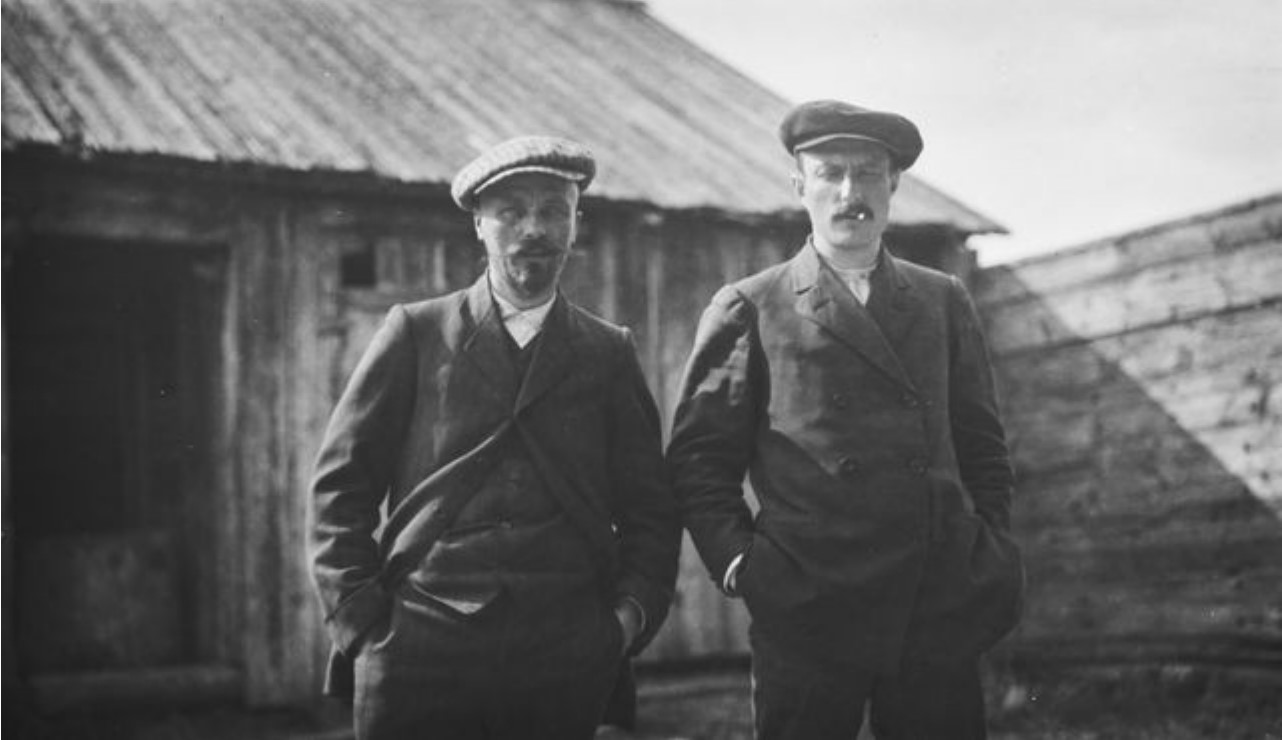 Сантери Якобсон и К.Ф. Карджалейнен