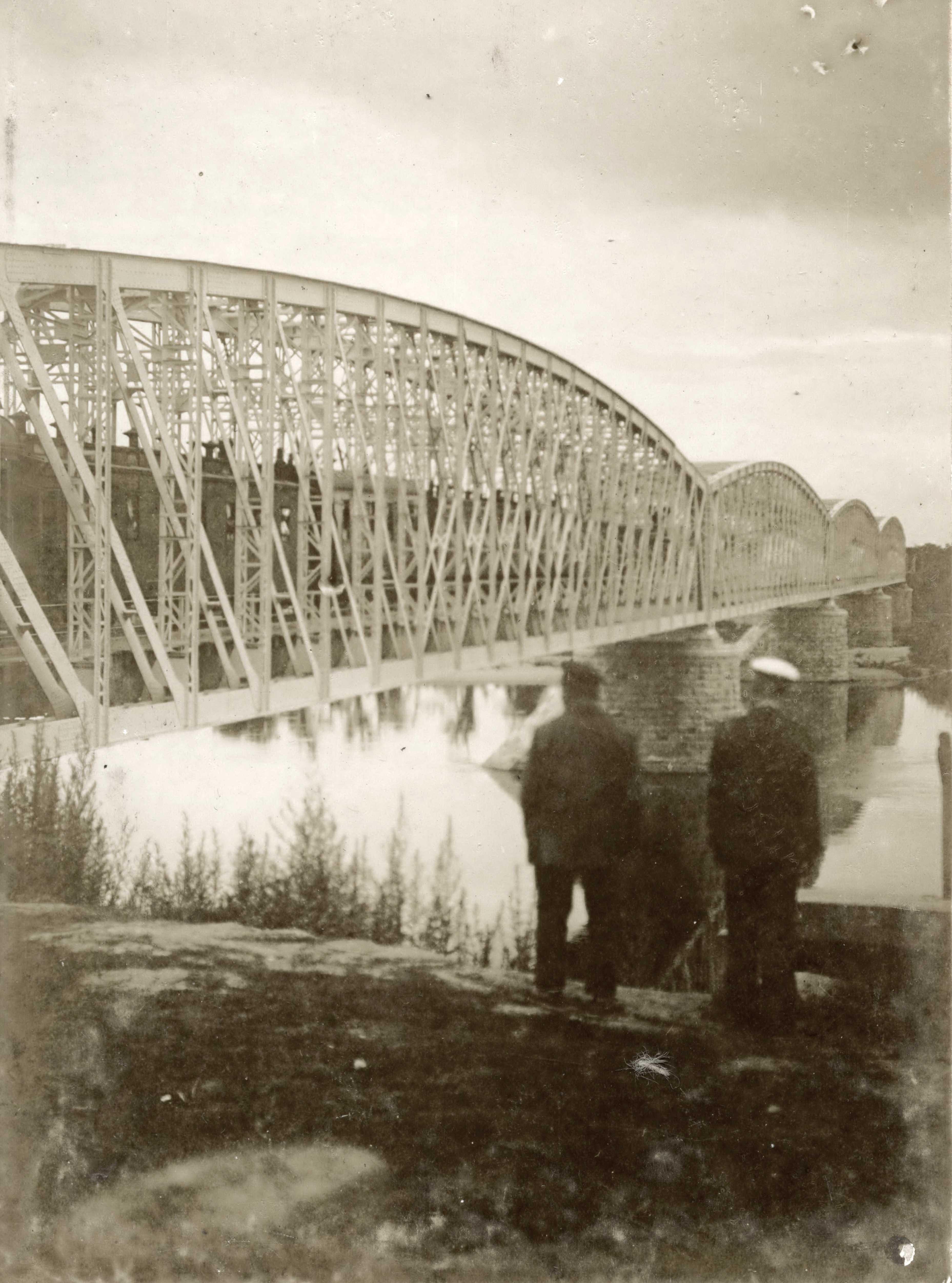 34. Мост через р. Хор