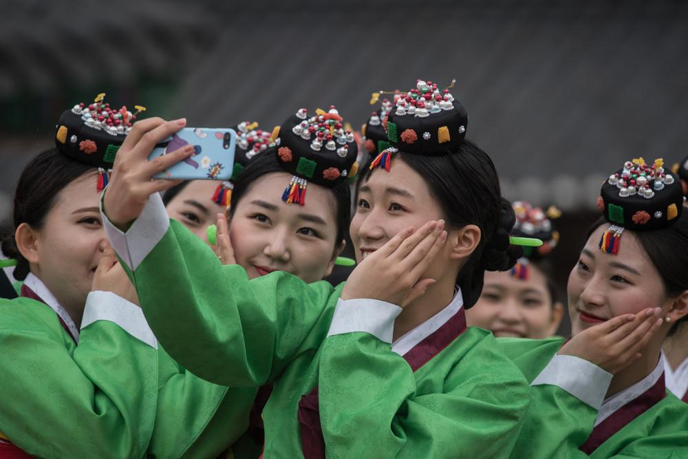 Фото повседневной жизни в Южной Корее