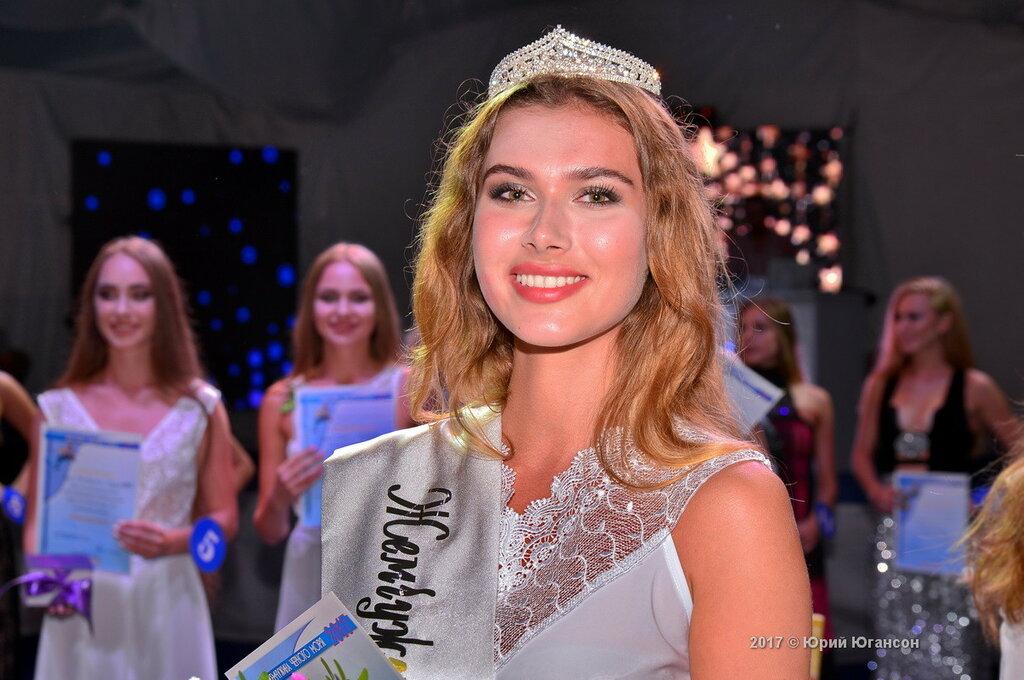 Победительница конкурса красоты - Елизавета Федотова, Казань