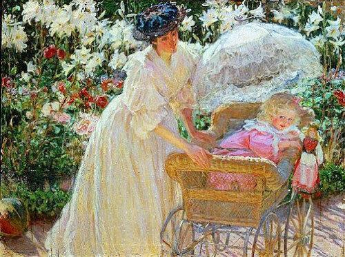 MacMonnies, Mary Fairchild «Roses et Lys»