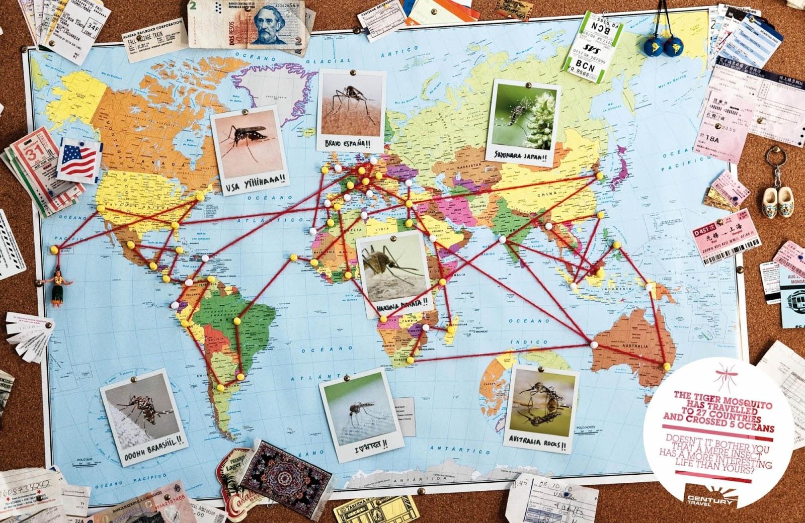 День туризма. карта мира с флажками посещенных мест. World map pinboard