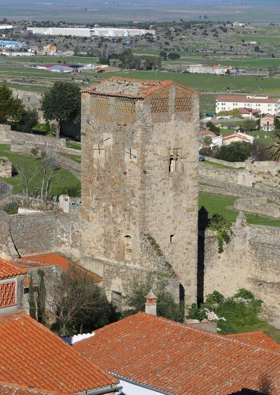 Trujillo view from Santa María la Mayor church tower