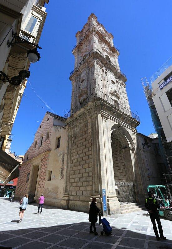 Малага. Церковь Святого Иоанна Крестителя (Iglesia de San Juan Bautista)