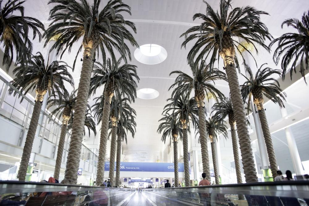 © depositphotos  Крупнейший гражданский аэропорт Объединенных Арабских Эмиратов, встречающий п