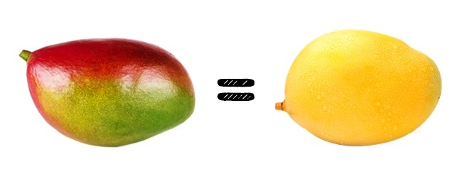 © depositphotos  © depositphotos  Плоды манго могут быть желтого, зеленого или красного