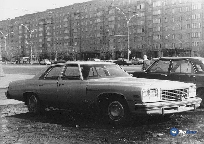 Начиная со второй половины XX века на дорогах Москвы и других больших городов Советского Союза стали