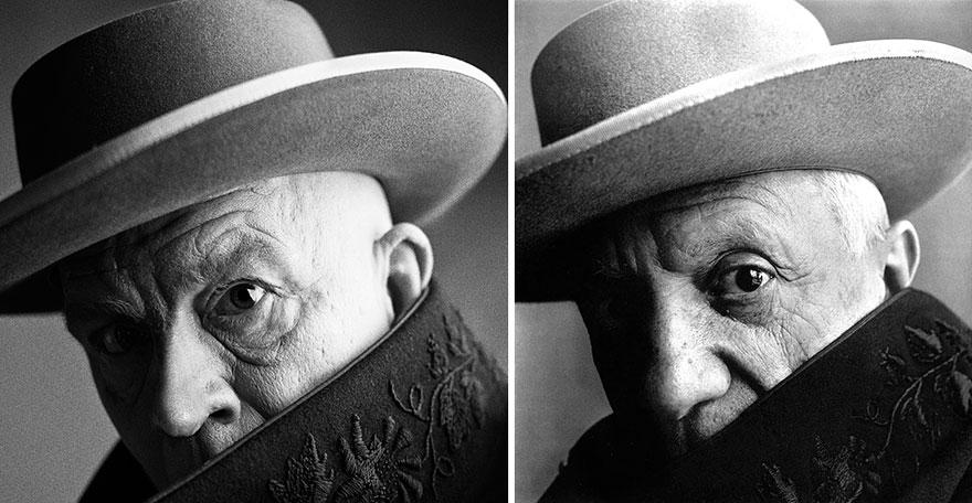 9. Сандро Миллер, Ирвин Пенн / Пабло Пикассо, Канны, Франция (1957), 2014