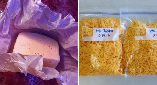 © Dessertnowdinnerlater  Сыр лучше сохранится, если вызавернете его невпищевую пленку, ав
