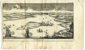 Военные действия под Петербургом, 18-й век,
